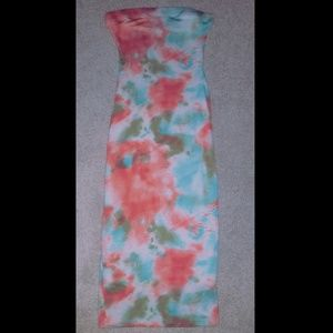 Never Worn: Tie Dye Tube Dress